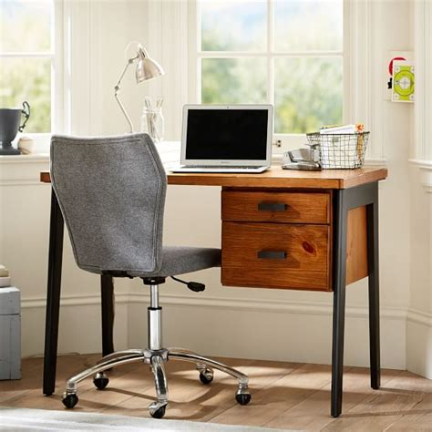 Desks For Small Bedrooms by Colton Small Desk Pbteen