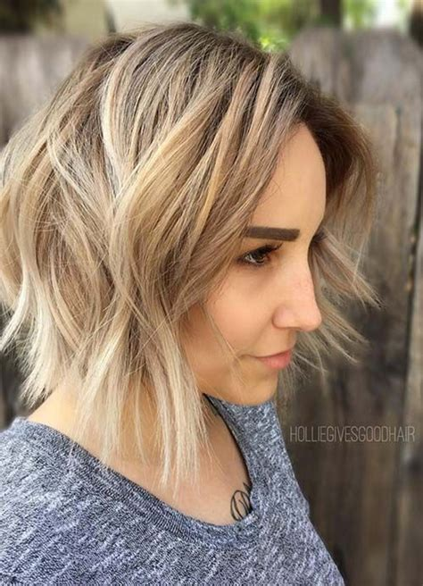 short bob with shorter layers at crown 55 short hairstyles for women with thin hair hair layers