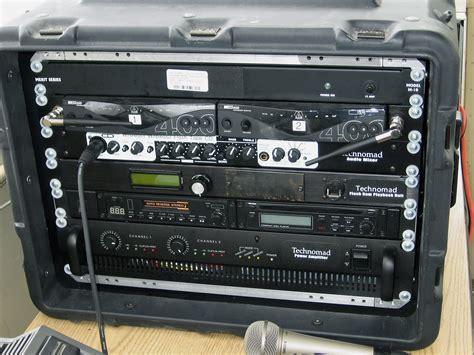 Sound Rack System by Technomad Pa System Adds Realism To Field
