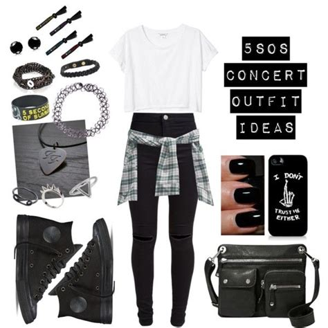 Fossil Kendall Cosmetic 5sos concert ideas 4 by jazziwheat on polyvore