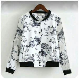Pg408 Jaket Sweater Perempuan Wanita Cewe Model Terbaru Murah Branded jaket sweater wanita lucu motif bunga model terbaru murah