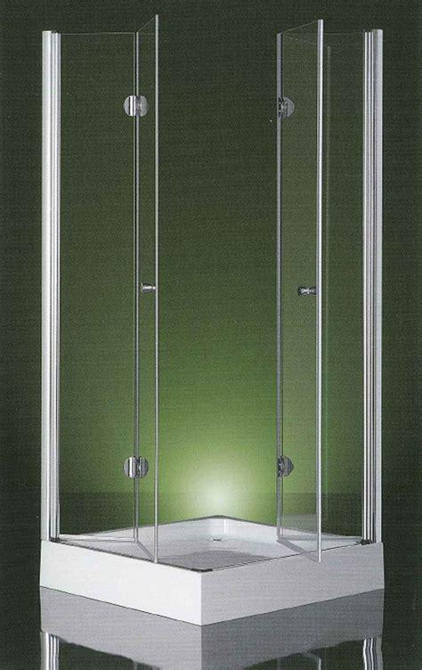 ante doccia box doccia apertura interna due ante a libro vetro 6mm
