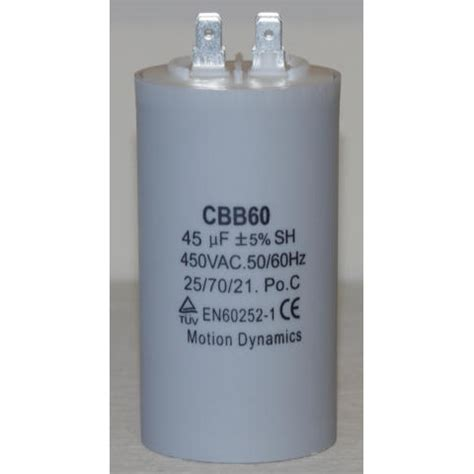 45uf run capacitor 45 181 f 500v ac start run capacitor cbb60