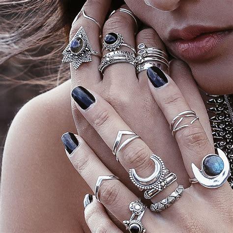 Latest and Stylish Bohemian Rings   TrendyOutLook.Com