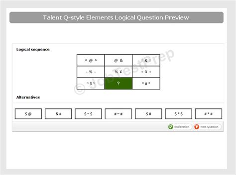 deutsche bank assessment test talent q elements logical test answers with explanations