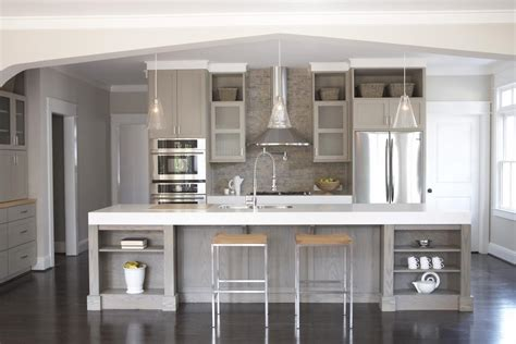 white and grey kitchen ideas grey and white kitchen designs peenmedia