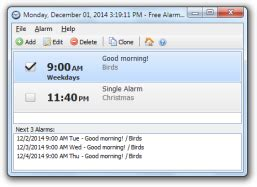free alarm clock free and software reviews cnet