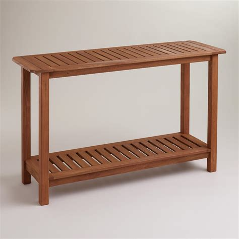 world market sofa table catalina console table world market