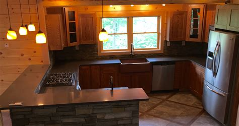 copper sink with stainless steel appliances lmlstudio author at roaring brook log homes 732 245 2962