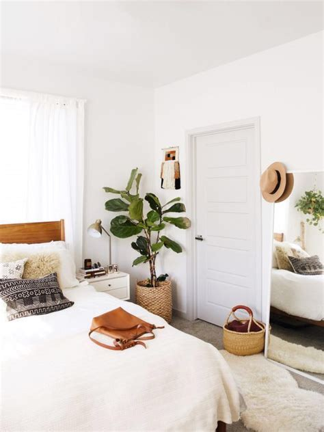 minimalist boho bedrooms    cute
