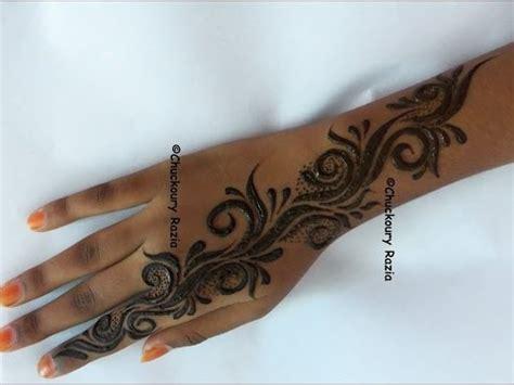 henna design gulf simple henna designs gulf style youtube