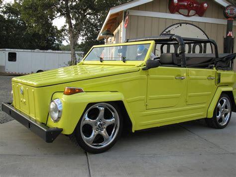 1974 volkswagen thing 1974 volkswagen thing custom convertible 133078