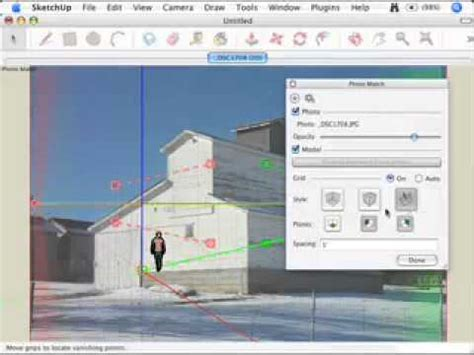 tutorial sketchup photo match google sketchup video tutorial creating a new photo match