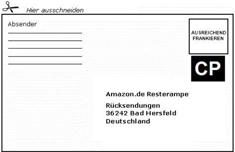 Paketschein Drucken Word by R 252 Cksende Etikett