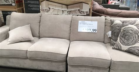 emerald sectional sofa costco bainbridge 4 piece fabric sectional costco weekender