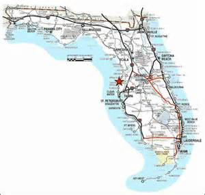 map of west coast florida map travel
