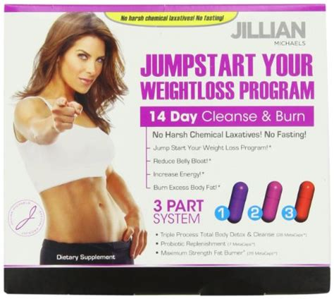 Jillian Cleanse And Detox by Thin Care Jillian Jumpstart Cleanse Burn Kit
