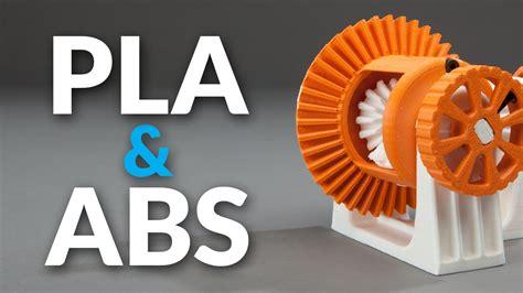 Abs 3d Printer pla vs abs filament plastic strength flexibility