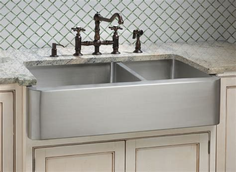 stainless farmhouse kitchen sinks stainless steel farmhouse kitchen sink best options of