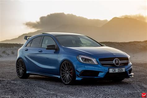 blue mercedes a45 amg blue imgkid com the image kid has it