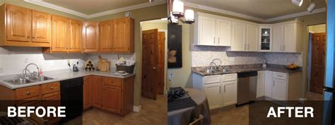 kitchen cabinet refacing before and after photos reface kitchen cabinets before and after hac0 dream home pinterest refacing kitchen