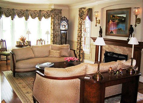 traditional interior design characteristics