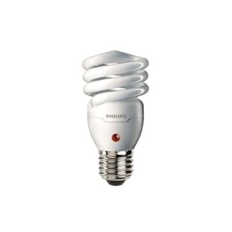 dusk till light bulbs philips 60w equivalent white spiral dusk till