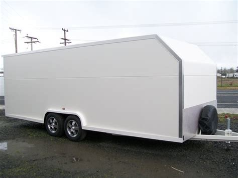 Car Plans enclosed trailers beaver built transportables