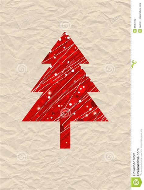 christmas tree illustration stock photography image
