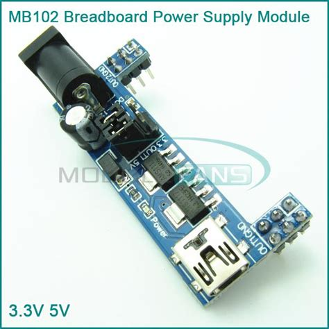 Power Supply 5v 33v Module For Breadboard Mb 102 mb102 breadboard power supply module 3 3v 5v for