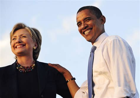 Six Degrees Of Obama And Clinton by Obama Endorses Clinton Business Insider