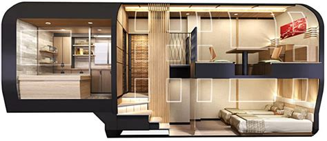 japanese luxury sleeper train is penthouse on rails