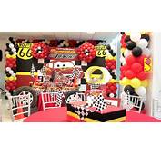 Cars Maeli Fiestas Decoraci&243n  YouTube