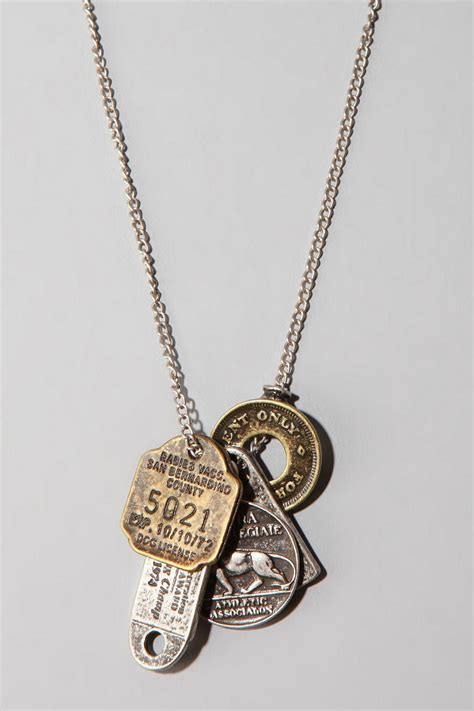 many coin necklace outfitters accessories