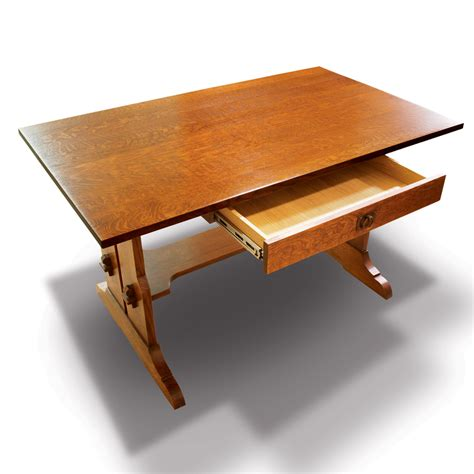 Desk Trestle by 8 Leg Side Board Mission Concepts