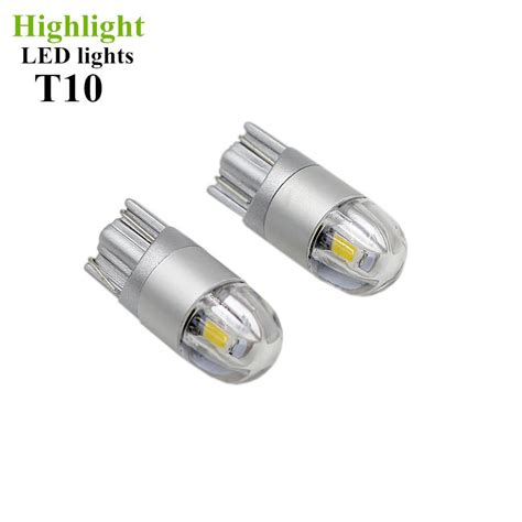 Twinhead Led T10 6 Led car styling w5w canbus car lights led t10 3030 2smd 12v