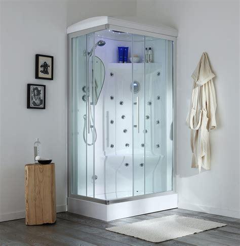piatto doccia con cabina cabina doccia con sauna e idromassaggio 70 x 110 cm iride