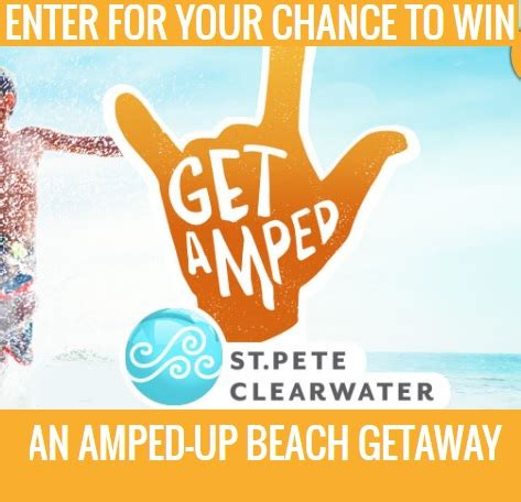 visit st pete clearwater get amped sweepstakes sweeps maniac - St Petersburg Sweepstakes