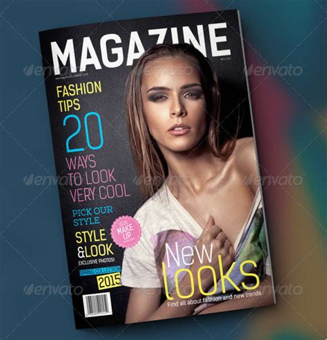 magazine cover template psd fashion magazine template psd images