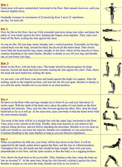 5 Tibetan Rites Detox Symptoms by The Five Exercise And Back To On