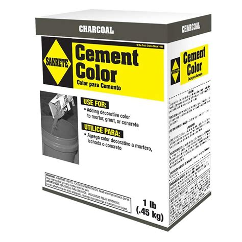 sakrete 1 lb cement color charcoal 65075002 the home depot