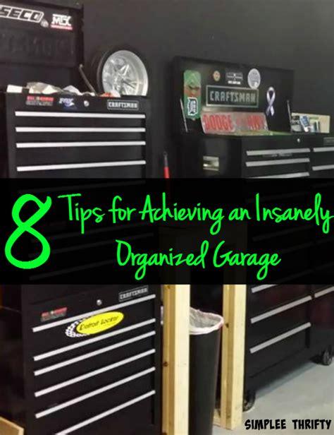 youre ready    garage  insanely organized