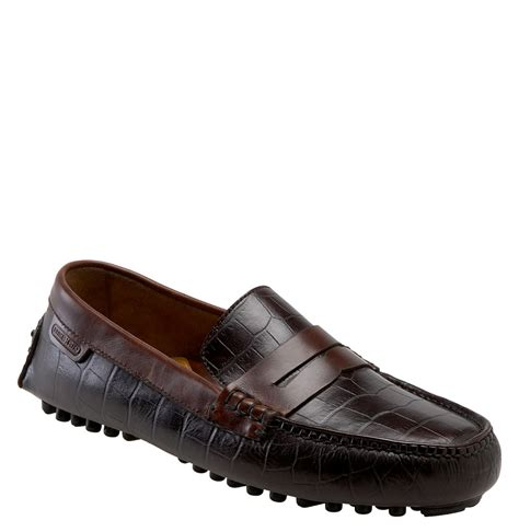 cole haan air grant loafer cole haan air grant driving loafer in brown for