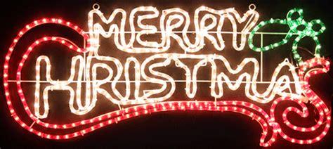 vickysuncom animated cm led merry christmas motif rope lights
