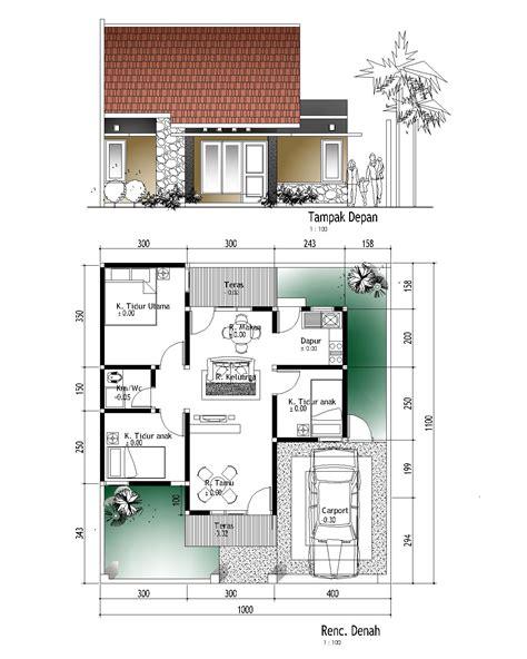 desain rumah walet 8x12 desain rumah sederhana
