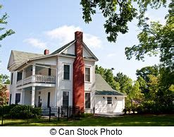 two story farmhouse picture of old white two story farmhouse with red brick