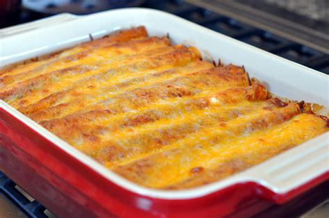 chicken enchilada casserole recipe dishmaps