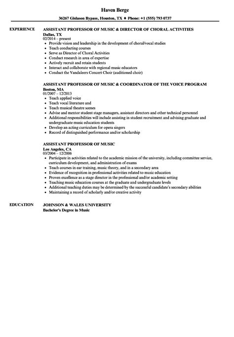 best solutions of resume format for assistant professor nice resume