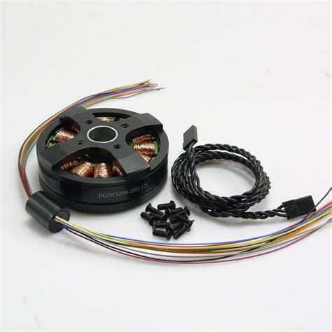 Brushless Gimbal Gymbal Motor Bgm5208 75t For 5d2 Dys dys bgm5208 200 12 brushless gimbal motor for 5d2 dslr 800 1500g fpv aerial photography