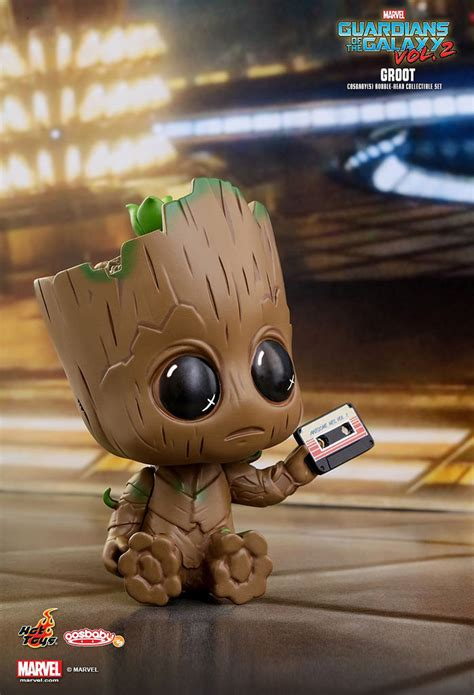 i am groot bobblehead i am groot toys cosb360 星際異攻隊2 格魯特 groot cosbaby